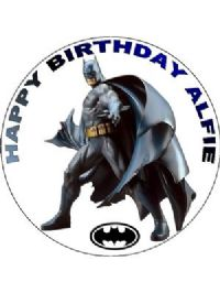 batman wedding cake topper uk 7 5 batman personalised icing or wafer paper cake top topper 11134